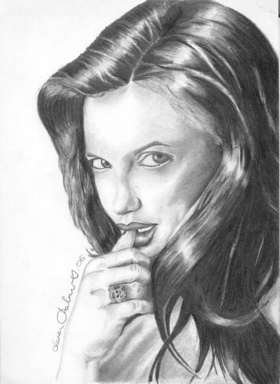 Angelina Jolie por kazzonline